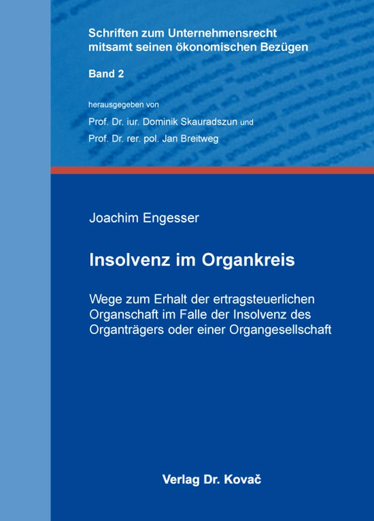 Cover: Insolvenz im Organkreis