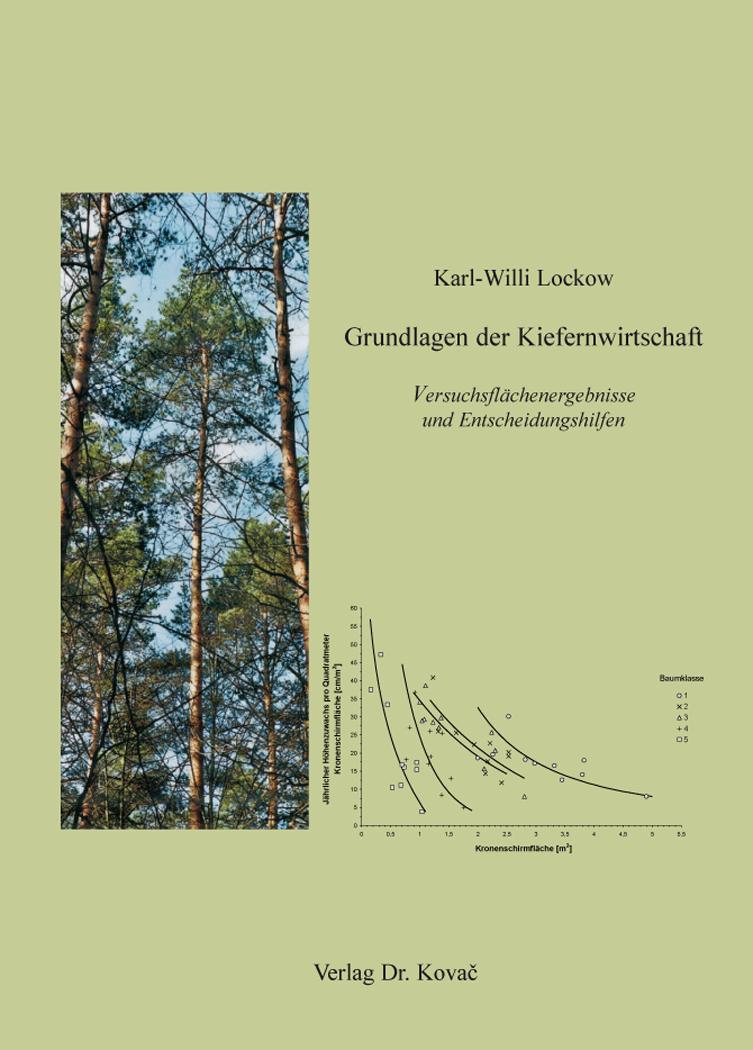 Cover: Grundlagen der Kiefernwirtschaft