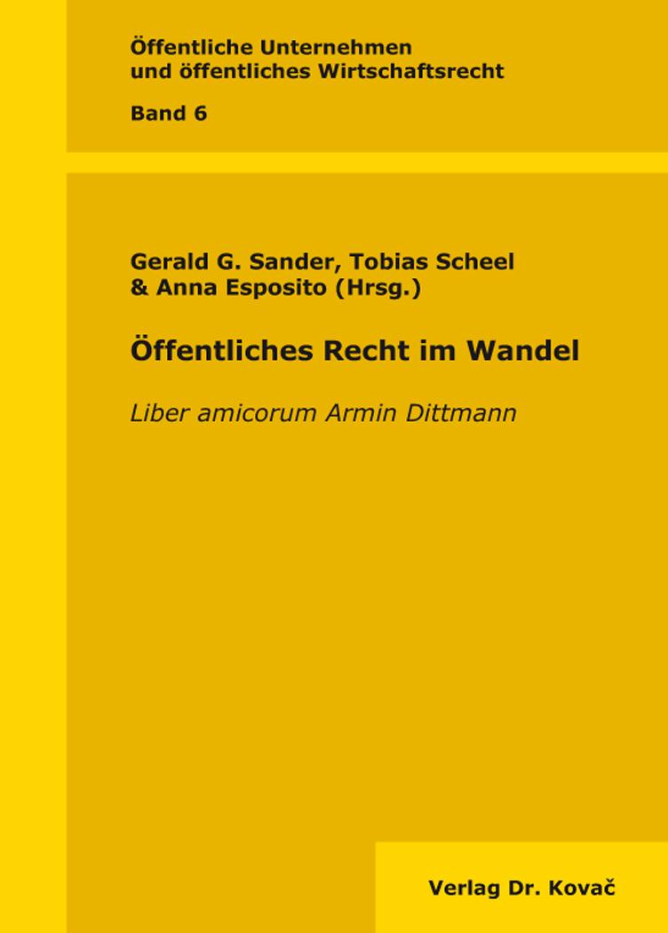 Cover: Öffentliches Recht im Wandel