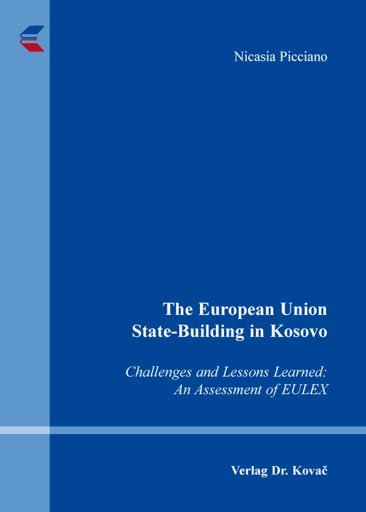 Cover: The European Union State-Building in Kosovo