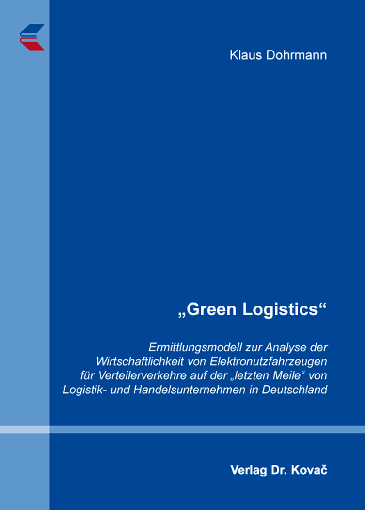 Dissertation Distribution Logistik