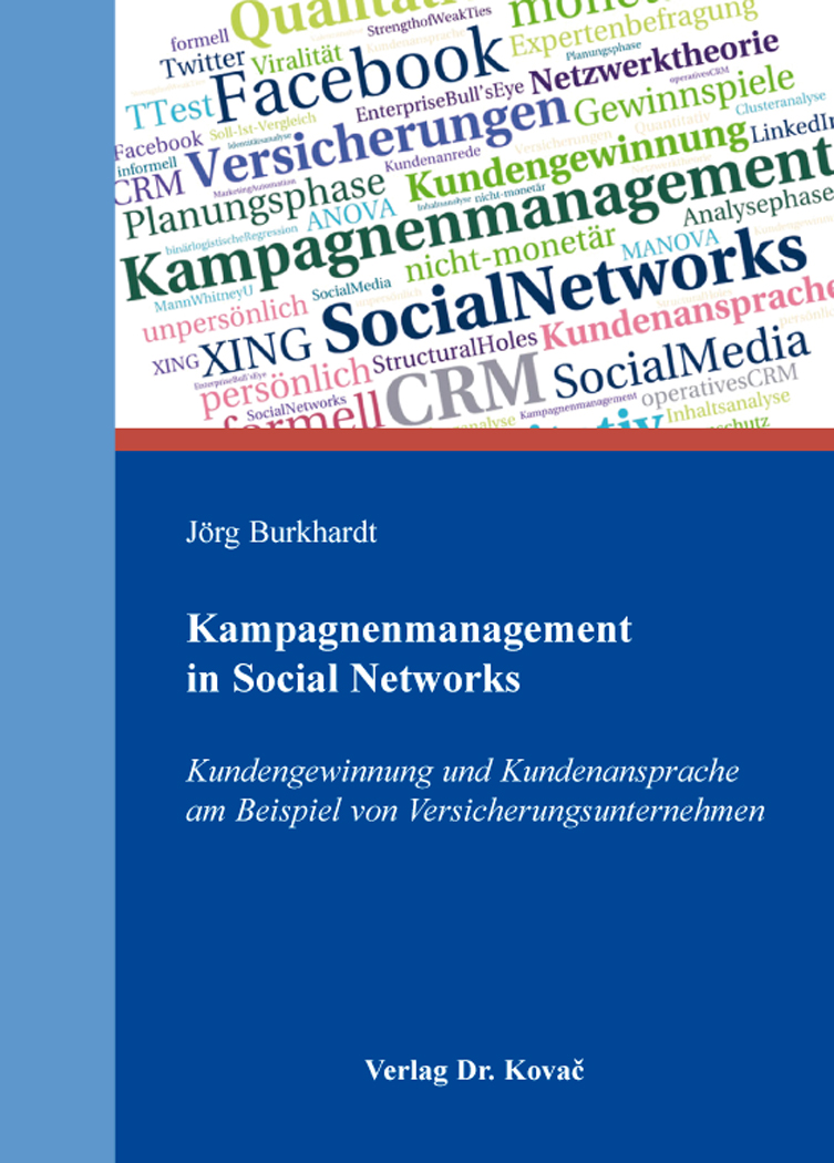 Cover: Kampagnenmanagement in Social Networks