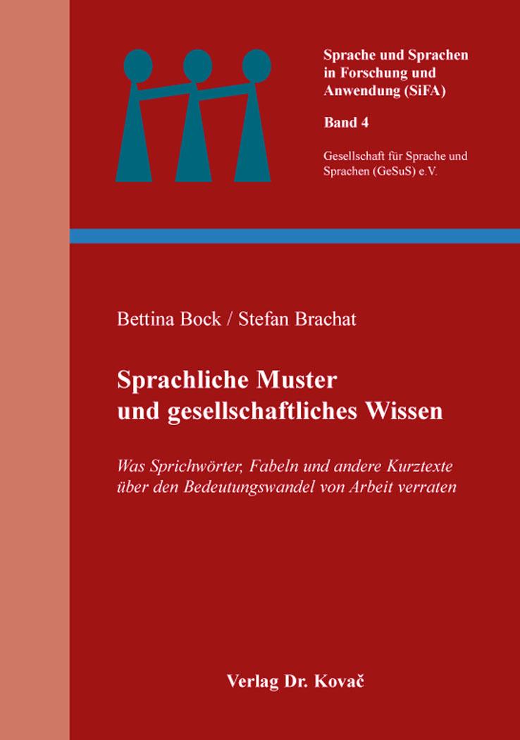 Cover: Sprachliche Muster und gesellschaftliches Wissen