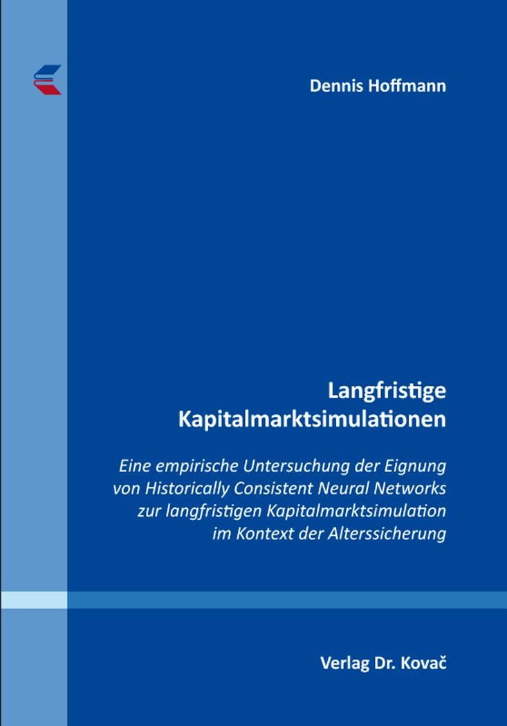 Cover: Langfristige Kapitalmarktsimulationen