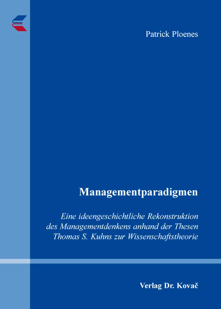 Cover: Managementparadigmen