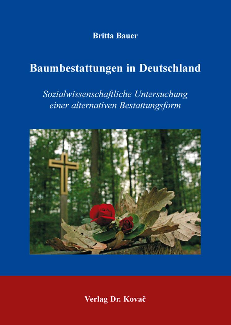 Cover: Baumbestattungen in Deutschland