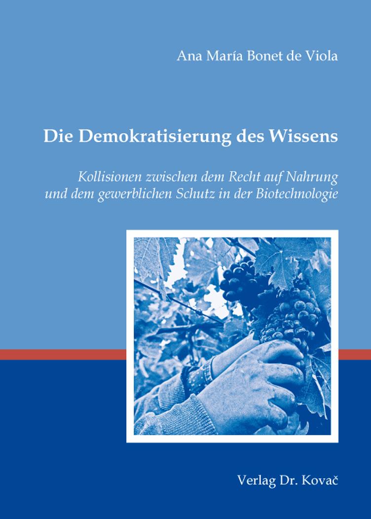 Cover: Die Demokratisierung des Wissens