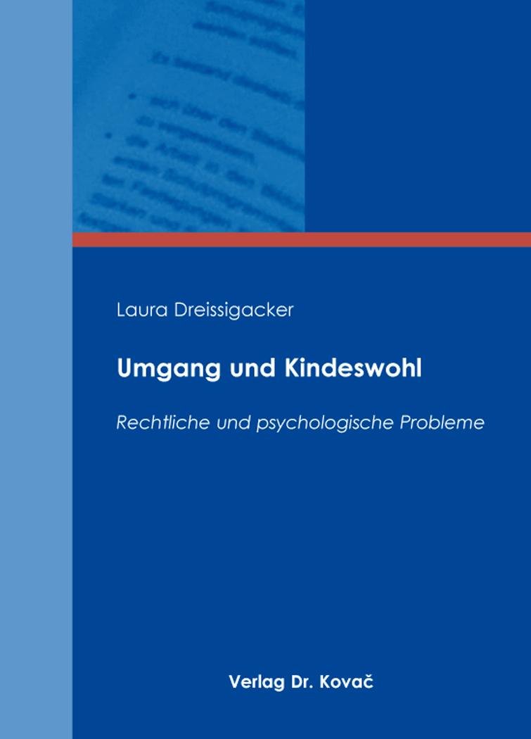 Cover: Umgang und Kindeswohl