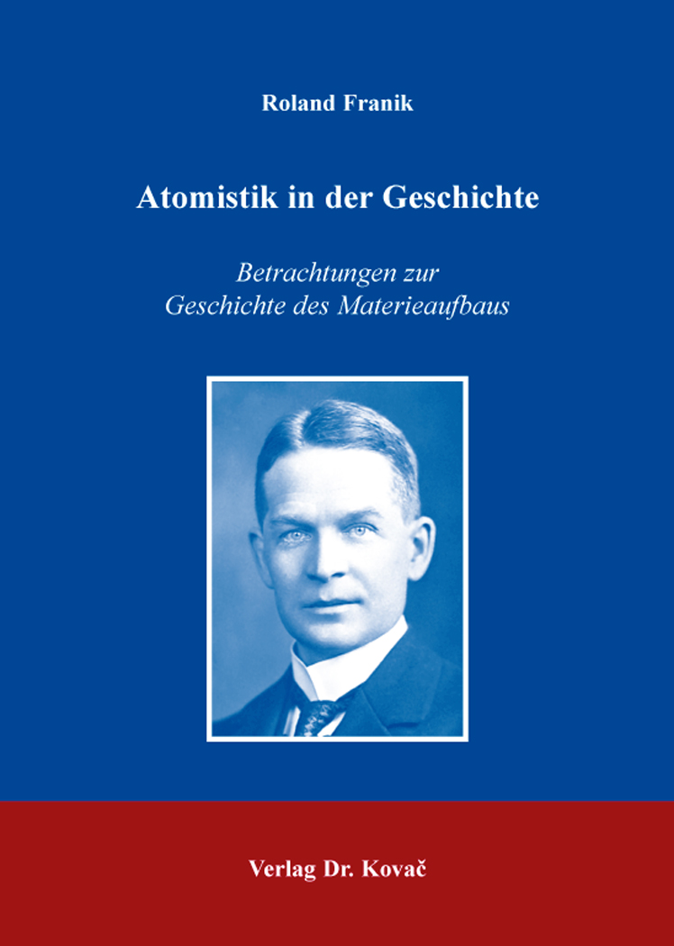 Cover: Atomistik in der Geschichte