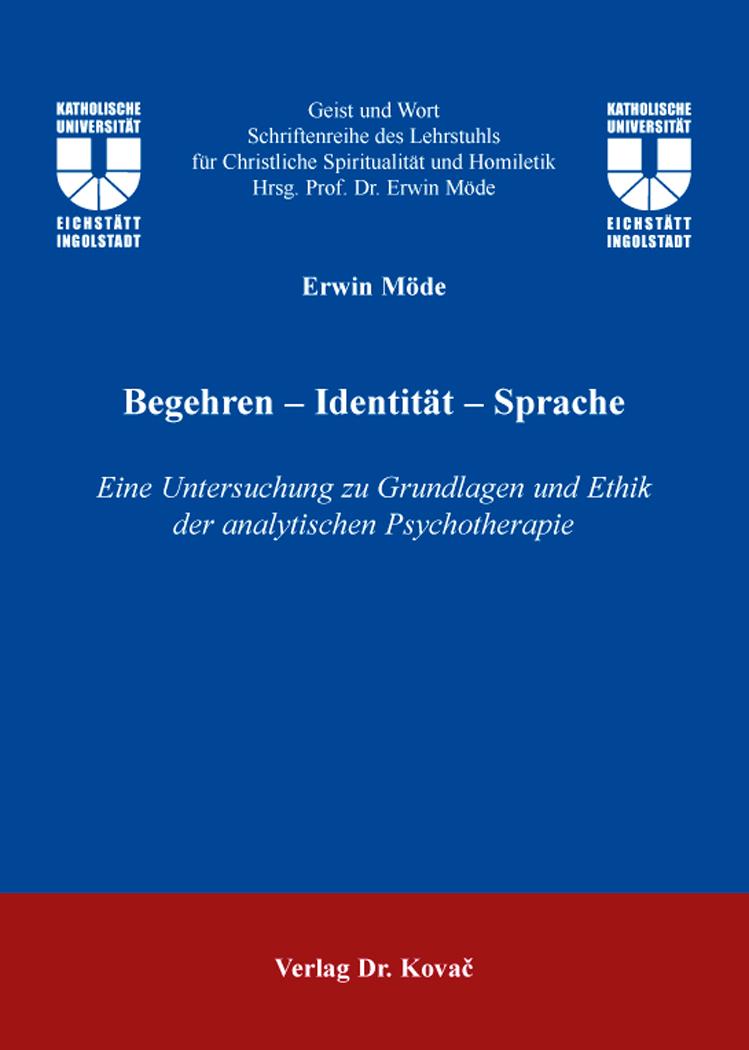 Cover: Begehren – Identität – Sprache