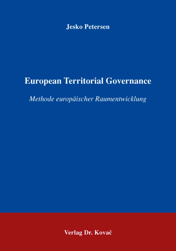 Cover: European Territorial Governance