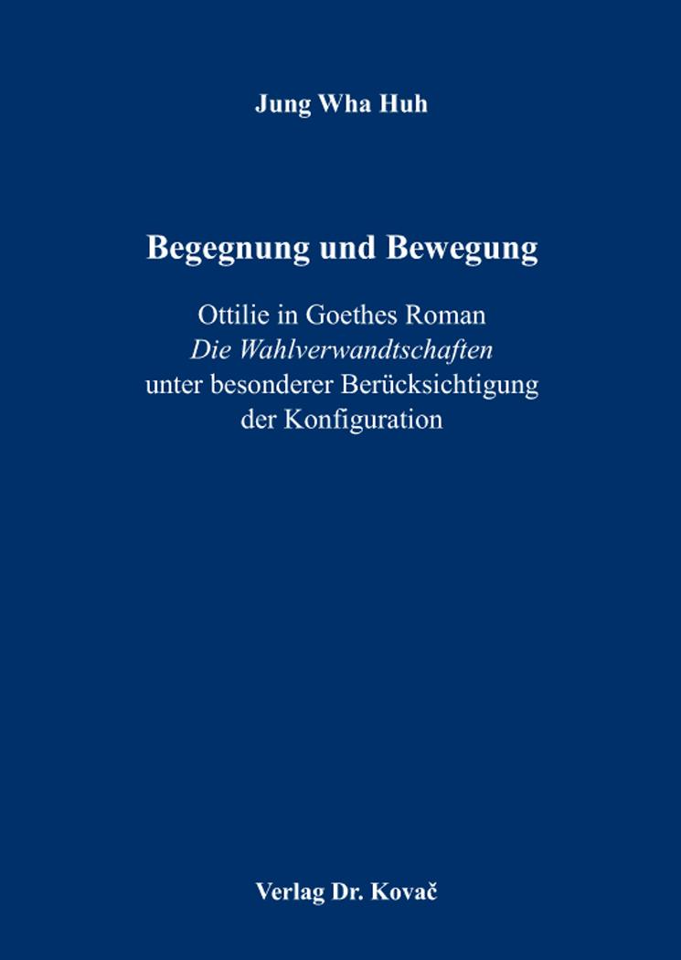 Cover: Begegnung und Bewegung