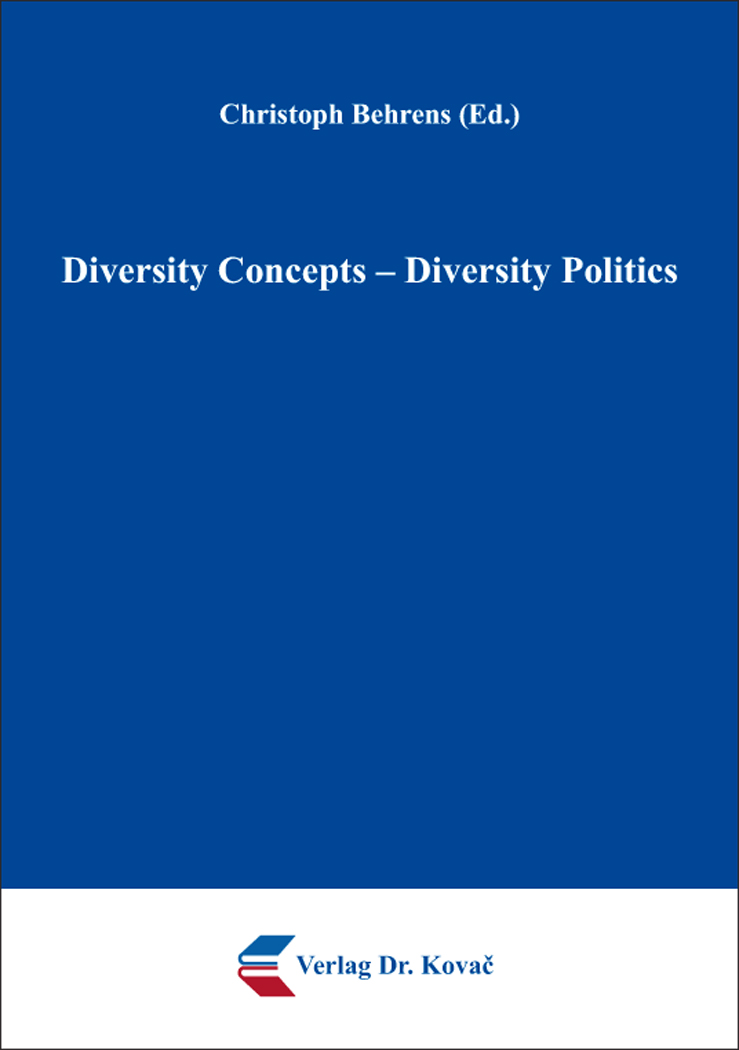 Cover: Diversity Concepts – Diversity Politics
