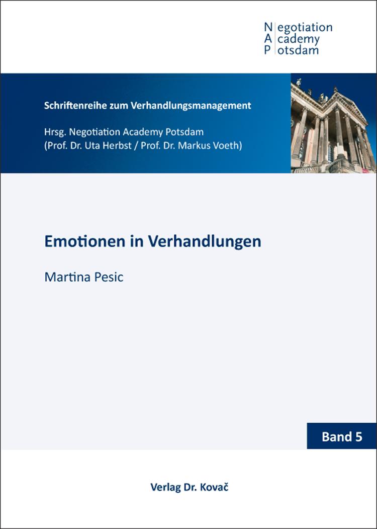 Cover: Emotionen in Verhandlungen