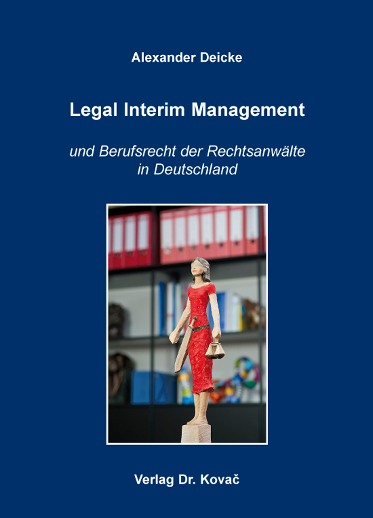 Cover: Legal Interim Management
