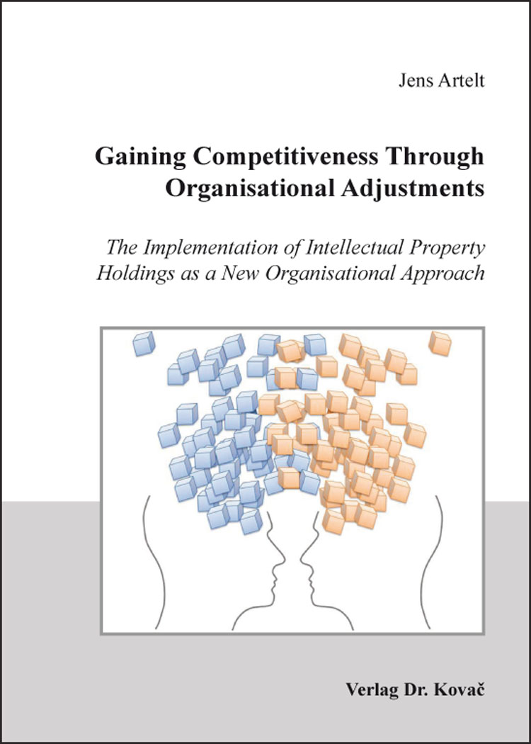 Cover: Gaining Competitiveness Through Organisational Adjustments