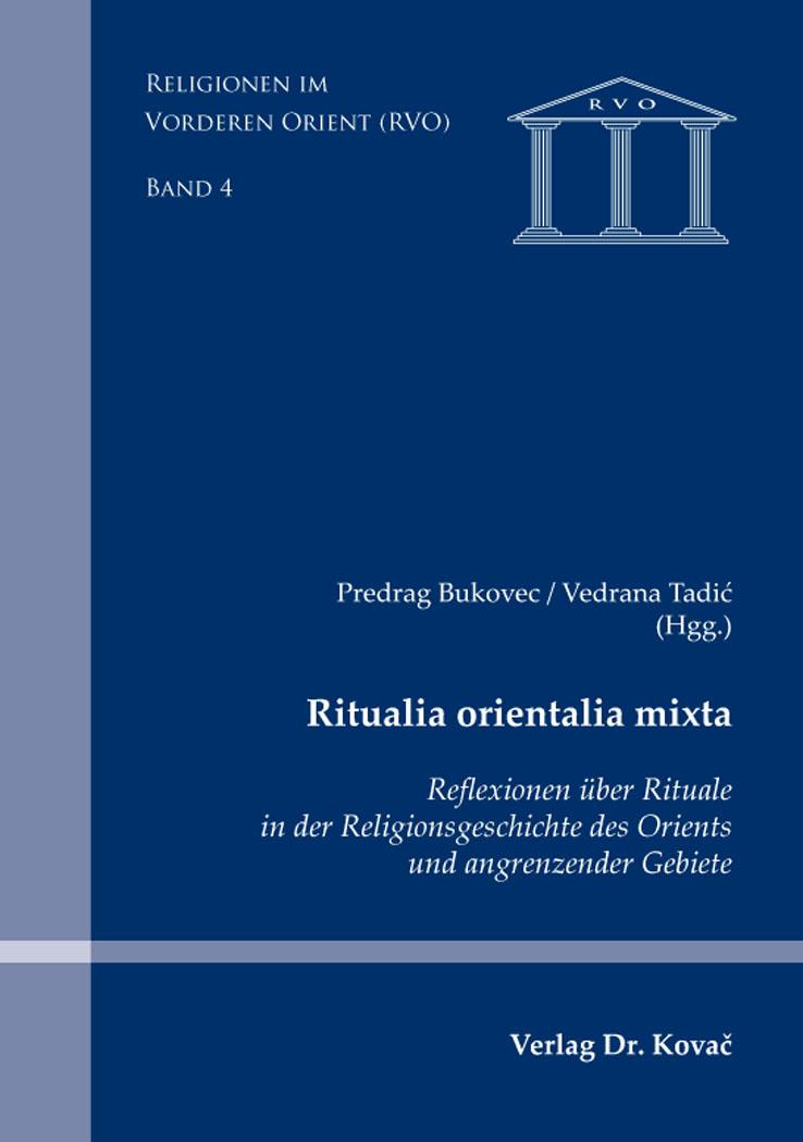 Cover: Ritualia orientalia mixta