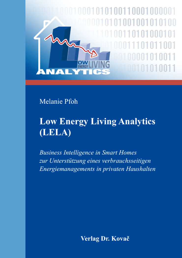 Cover: Low Energy Living Analytics (LELA)