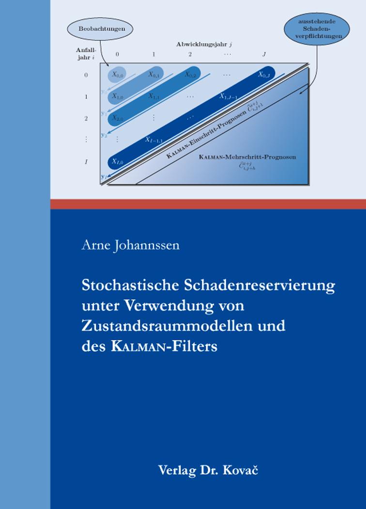 Cover: Stochastische Schadenreservierung unter Verwendung von Zustandsraummodellen und des Kalman-Filters