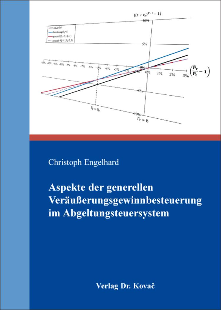 Cover: Aspekte der generellen Veräußerungsgewinnbesteuerung im Abgeltungsteuersystem