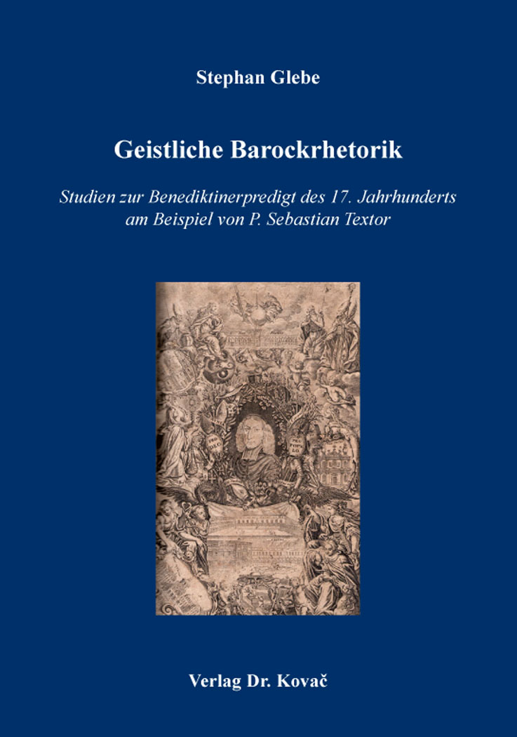 Cover: Geistliche Barockrhetorik