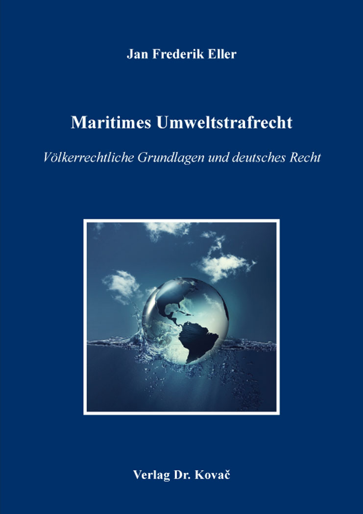 Cover: Maritimes Umweltstrafrecht