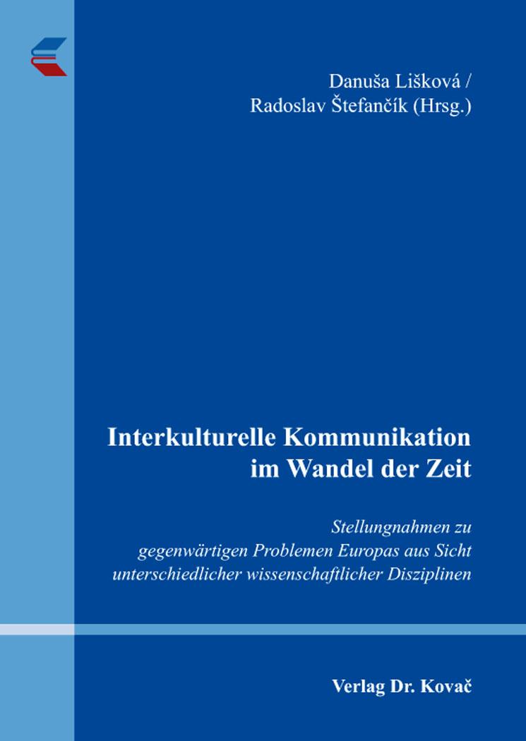 Cover: Interkulturelle Kommunikation im Wandel der Zeit