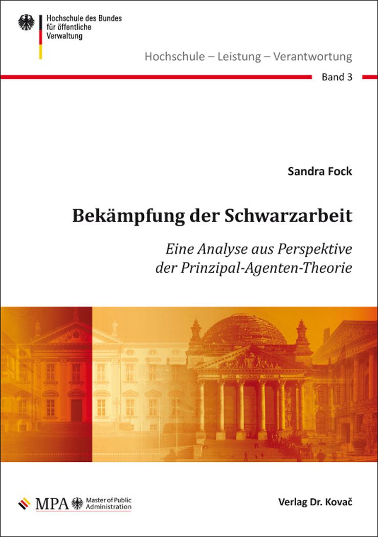 Cover: Bekämpfung der Schwarzarbeit