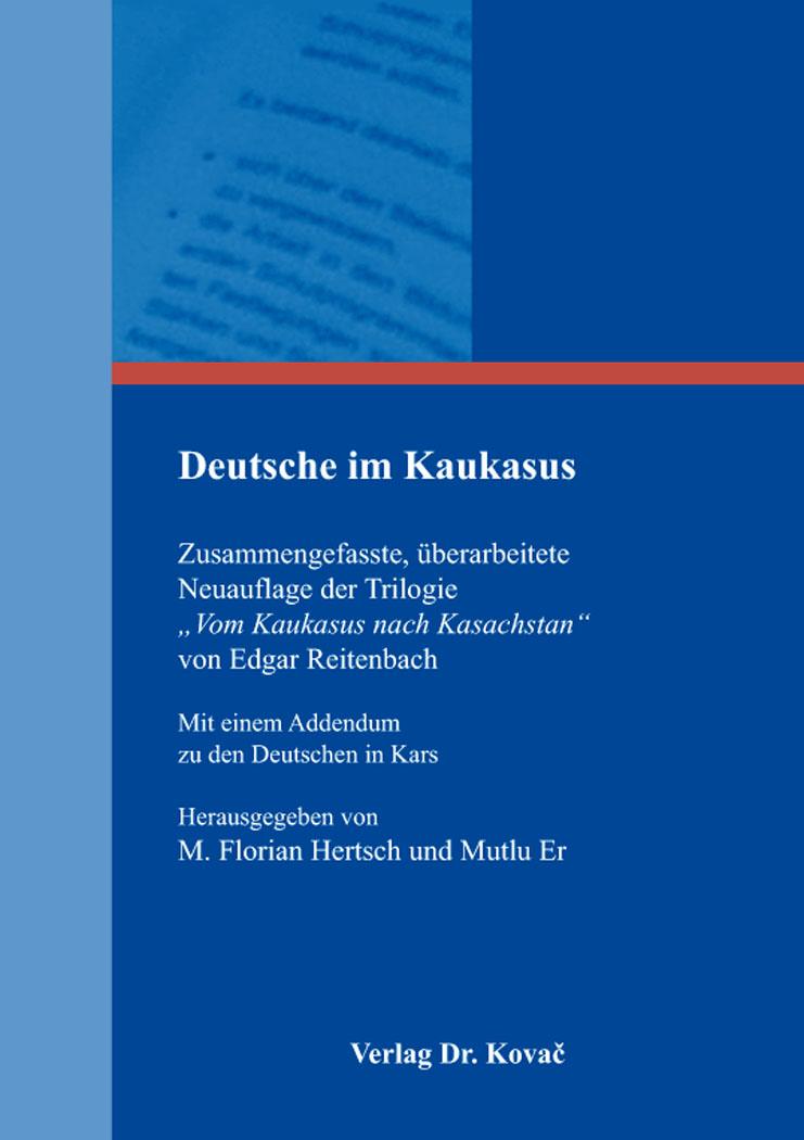 Cover: Deutsche im Kaukasus