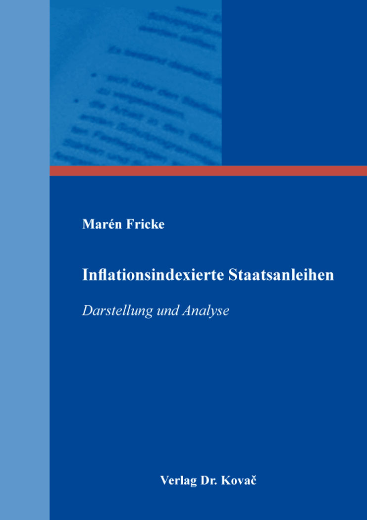 Cover: Inflationsindexierte Staatsanleihen