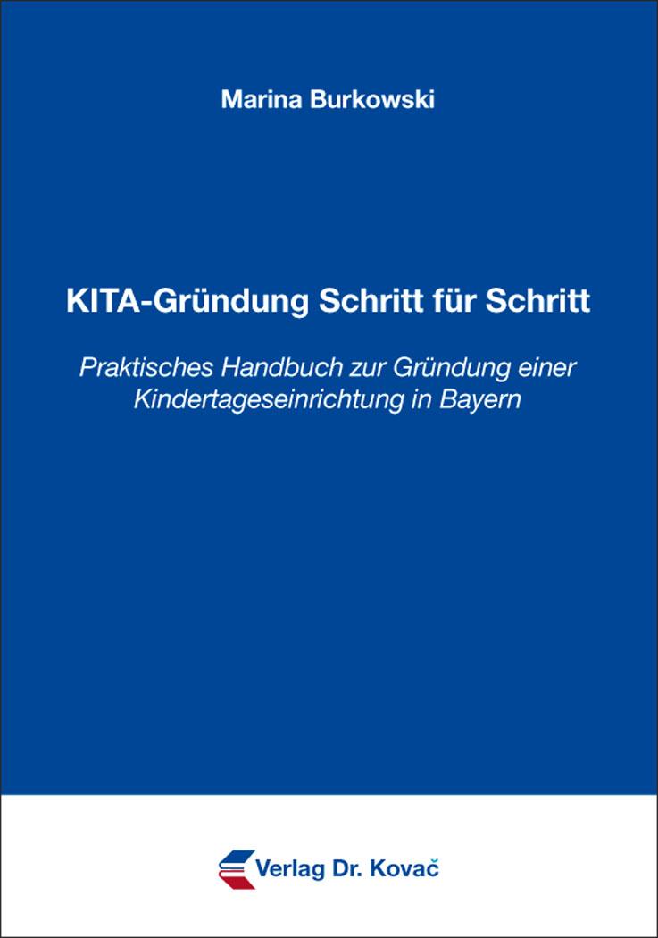 Cover: KITA-Gründung Schritt für Schritt