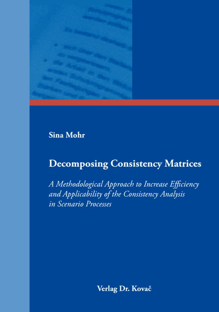Cover: Decomposing Consistency Matrices