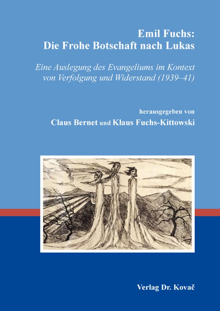 Cover: Emil Fuchs: Die Frohe Botschaft nach Lukas