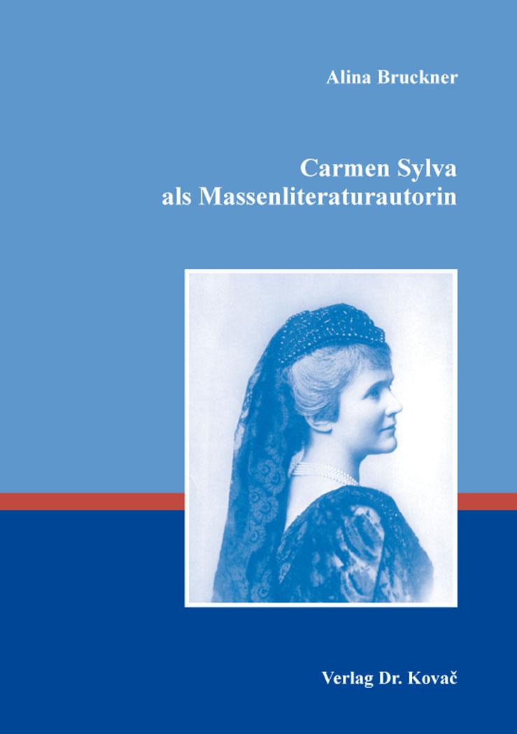 Cover: Carmen Sylva als Massenliteraturautorin
