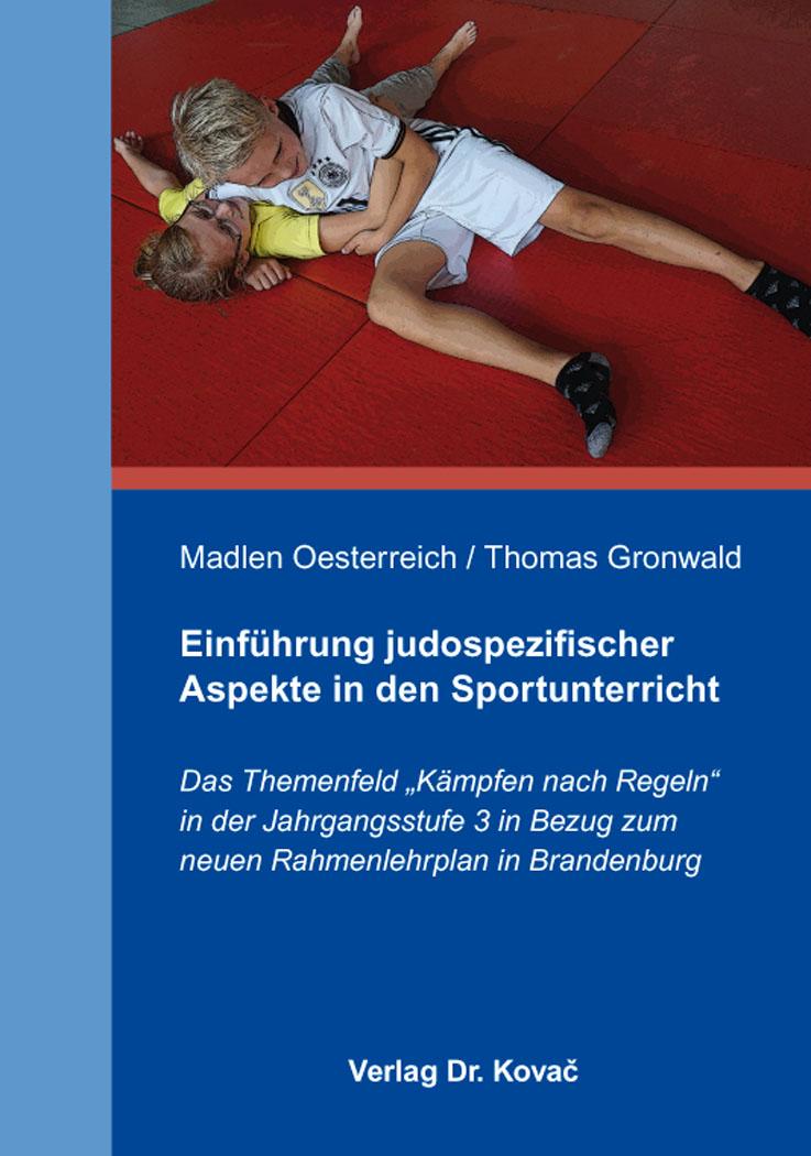 Cover: Einführung judospezifischer Aspekte in den Sportunterricht