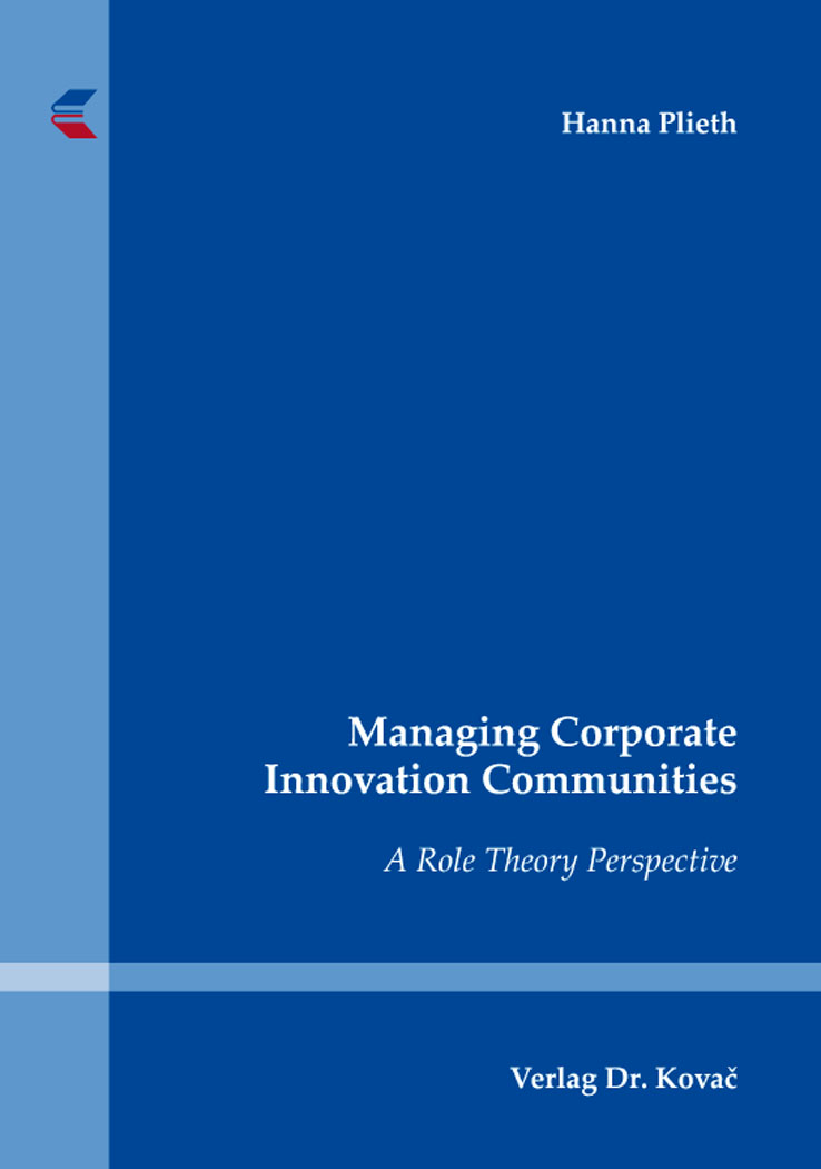 Cover: Managing Corporate Innovation Communities