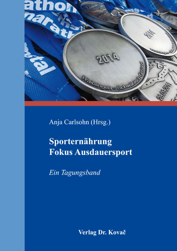 Cover: Sporternährung Fokus Ausdauersport