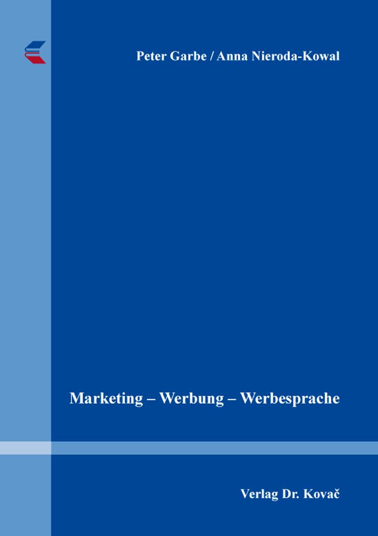 Cover: Marketing – Werbung – Werbesprache