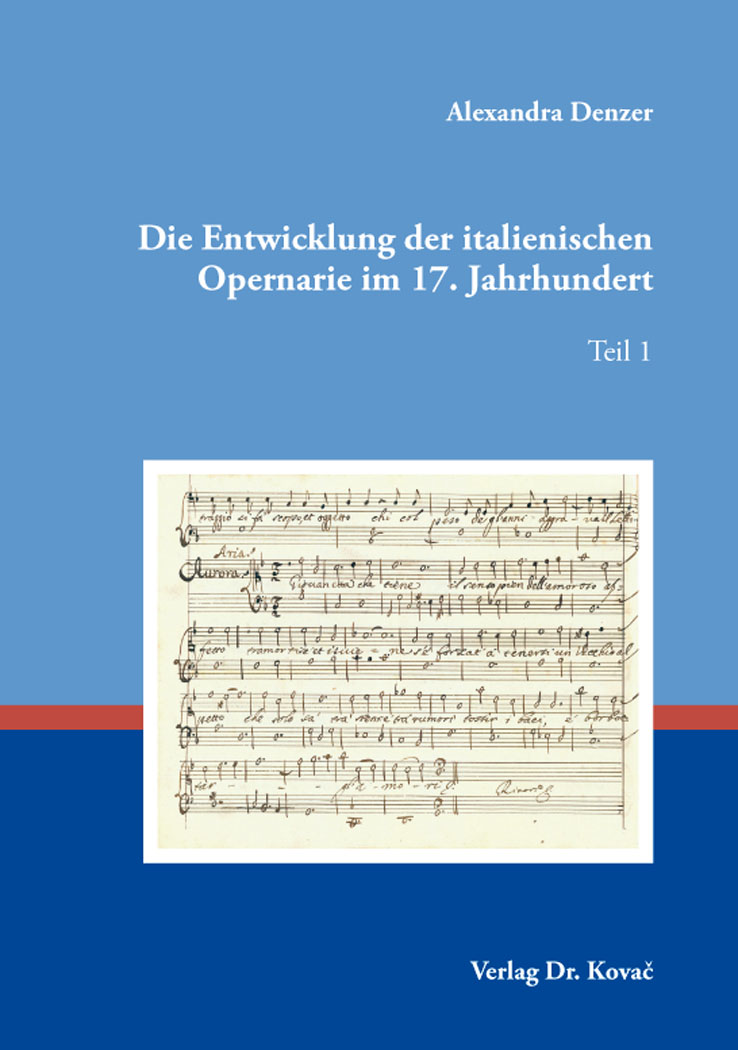 Cover: Die Entwicklung der italienischen Opernarie im 17.Jahrhundert