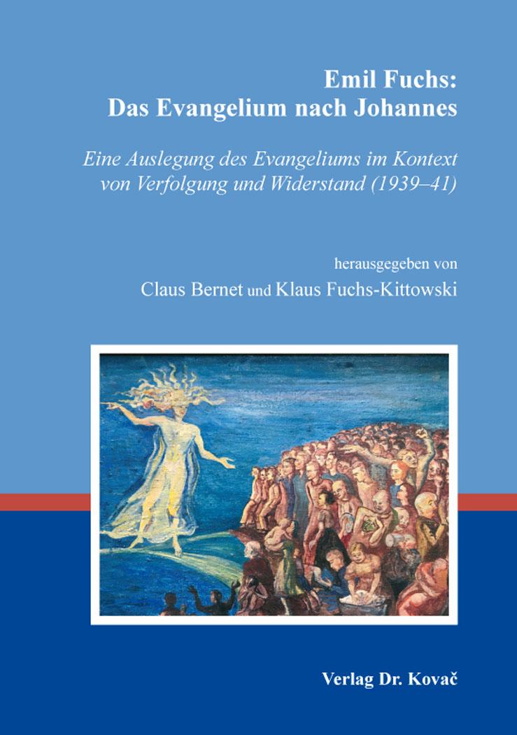 Cover: Emil Fuchs: Das Evangelium nach Johannes