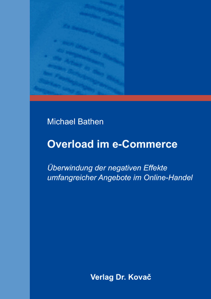 Cover: Overload im e-Commerce
