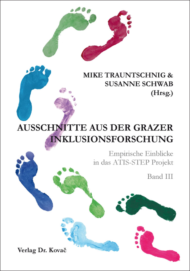 Cover: Ausschnitte aus der Grazer Inklusionsforschung