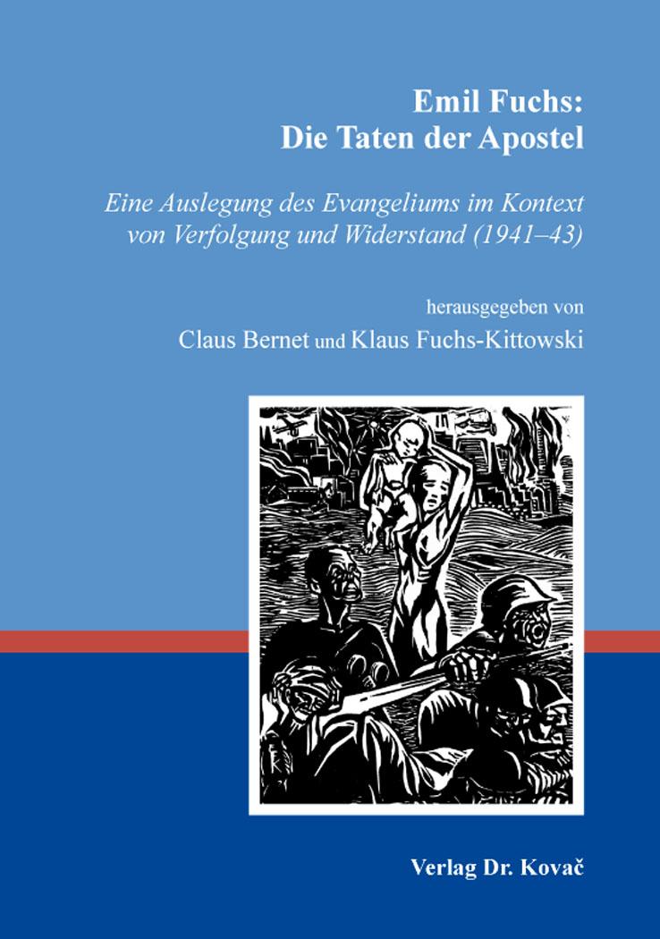 Cover: Emil Fuchs: Die Taten der Apostel