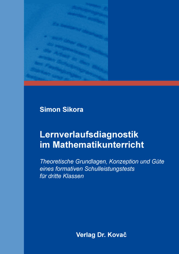 Cover: Lernverlaufsdiagnostik im Mathematikunterricht