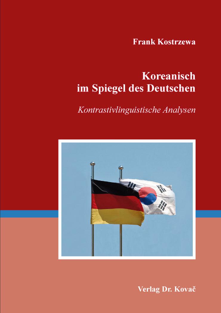 Cover: Koreanisch im Spiegel des Deutschen