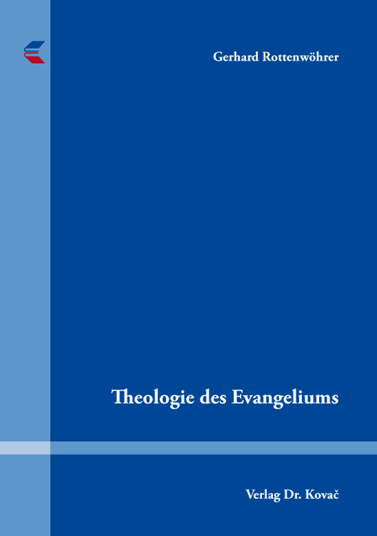 Cover: Theologie des Evangeliums