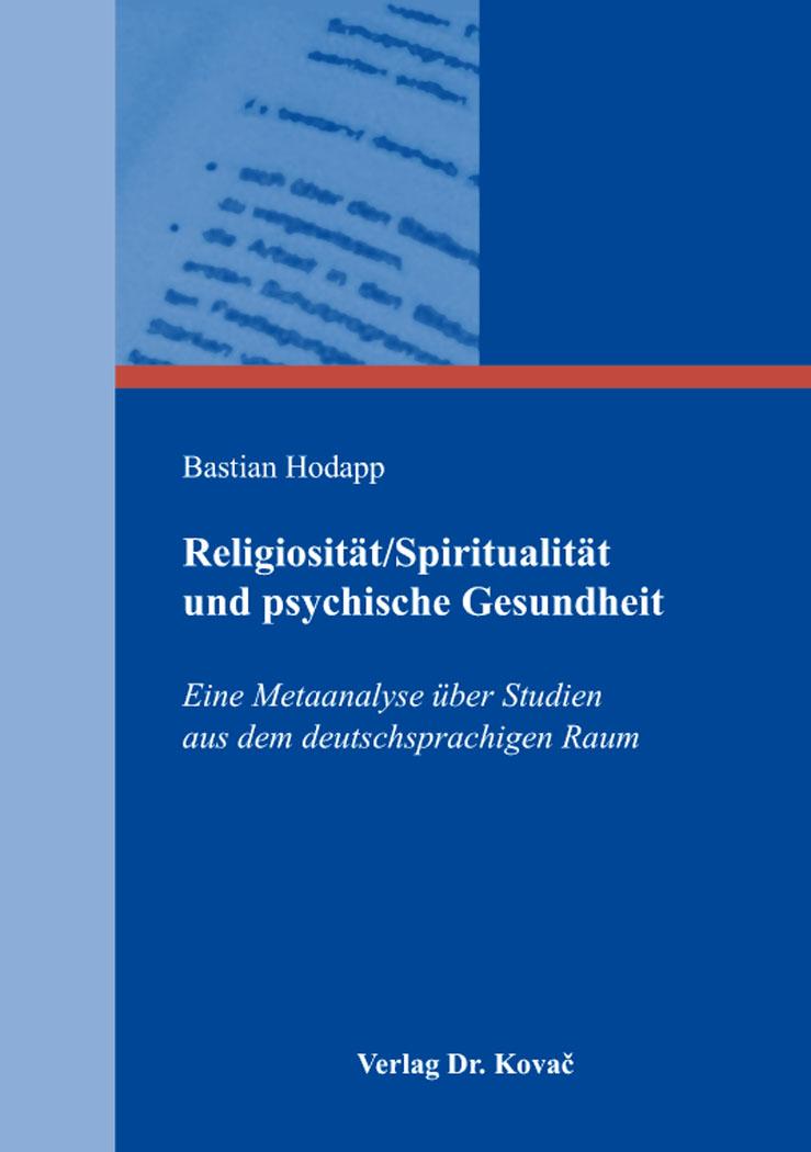 Cover: Religiosität/Spiritualität und psychische Gesundheit