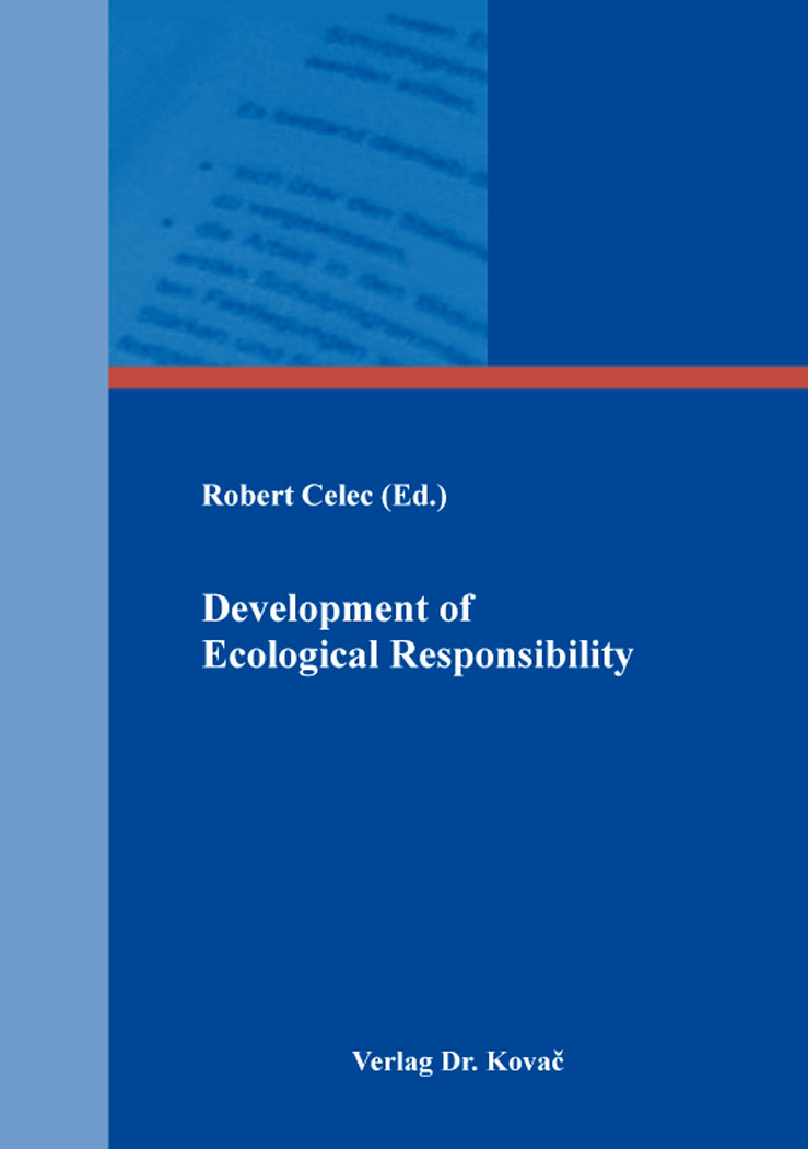 Cover: Development of Ecological Responsibility