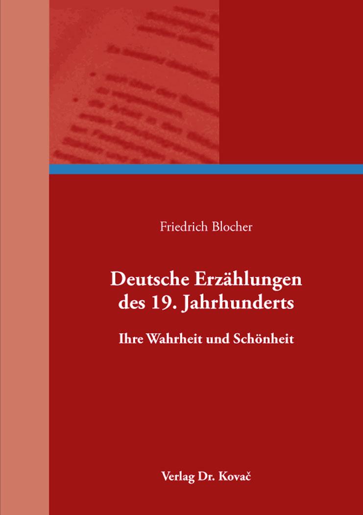 Cover: Deutsche Erzählungen des 19. Jahrhunderts