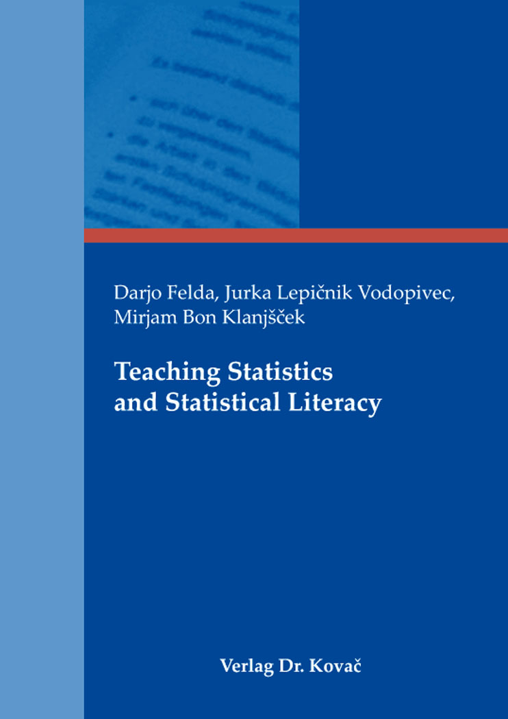 Cover: Teaching Statistics and Statistical Literacy